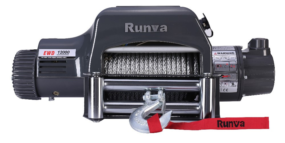 Runva 12000 lbs electric crane winch for Jeep, Truck&Suv