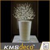 3D LED vase light artificial bonsai tree/ luxury tree with starlight for big shopping mall