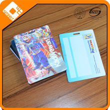 PET plastic Top Fantastic Design Customized 3D PVC RFID Smart Card