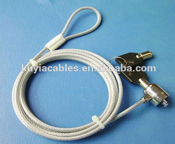Laptop Notebook Security Wire Lock/cable Lock With Two Keys /with ...