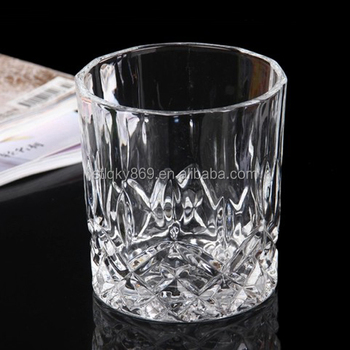 Nouveaux Produits 200 Ml Whisky Cristal Pierre De Verre Whisky Verre Rond  En Verre De Whisky