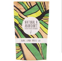 Mighty Leaf Marrakesh Mint Green Tea Whole Leaf Tea Pouches Organic Lemon Myrtle Kraft paper pouch