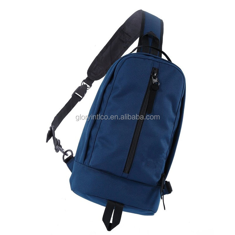 Manufacturer Newest Cover Bicycle Messenger Rucksack Travel Backpack Chest Bag Sling Cross Body