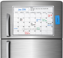 magnetic calendar for refrigerator