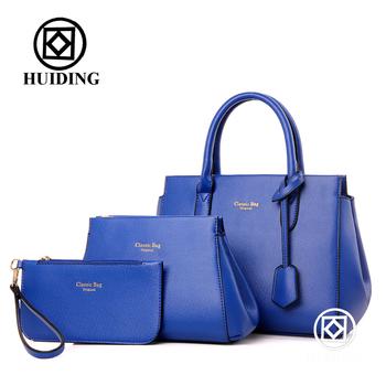 96c28c532 2016 3pcs in one set bag factory women bag purse Classic ladies totes Bags  handbags