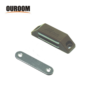 Ouroom Heavy duty furniture magnetic catch 59mm stainless steel magnetic catch industrial door magnetic catch