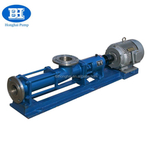 G series mono screw pump for fuel oil/sludge/slurry/sewage