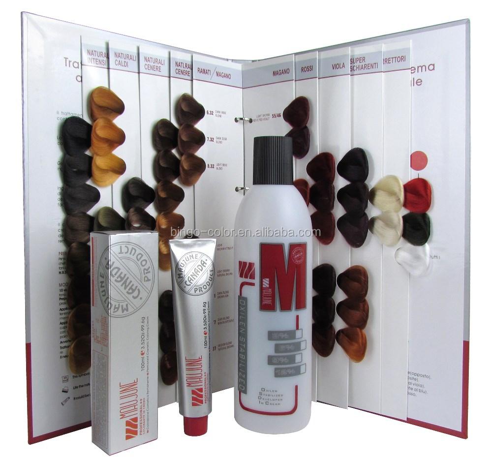 Wholesale Maujune Professional Salon Use Hair Color Dyeformula From