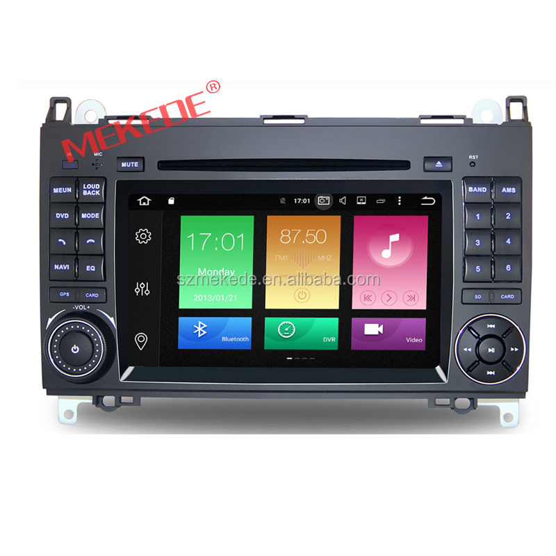 8Core Android 6.0 Car radio dvd player For B200 W169 W245 W469 W639 Sprinter Vito with 4G wifi BT GPS navigation 2GRAM+32GROM