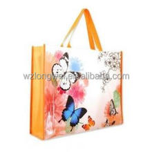 custom cheap personalize logo non woven fabric gift bag