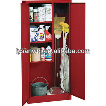 Cleaning Supplies Steel Storage Cabinet