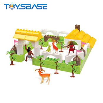 Wholesale Funny Building Blocks Toys Puzzle Games Zoo Animals Plastic Toy  With 110pcs - Buy Zoo Animals Plastic Toy,Puzzle,Plastic Puzzle Games