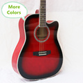 Electro Folk Pop Flattop Guitar 41 Inch Guitarra 6 String More Colors Red Blue Pink White