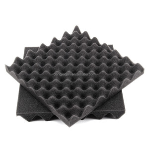 black top level breathable sound proofing sponge fireproof self adhesive acoustic foam