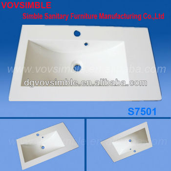 Chemical Resist Modified Acrylic Wash Basin/solid Surface Wash ...