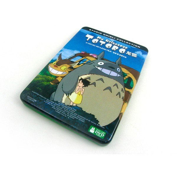 Hayao Miyazaki cartoon metal CD tin case