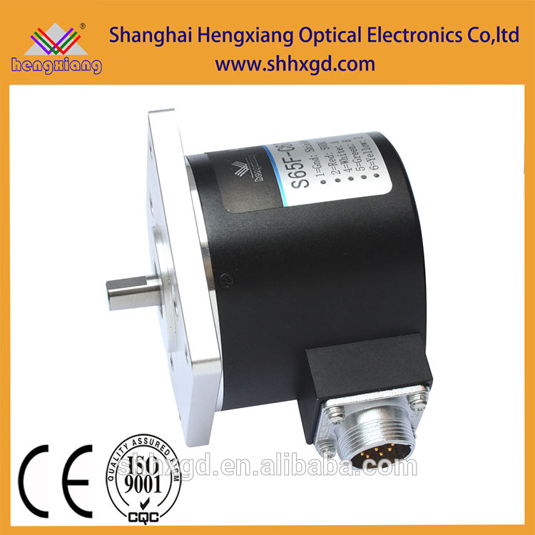 Shanghai encoder factory SJ65 intelligent absolute 10bit CW rotation