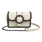 2018 women's small chain leather shoulder bag women crossbody bag