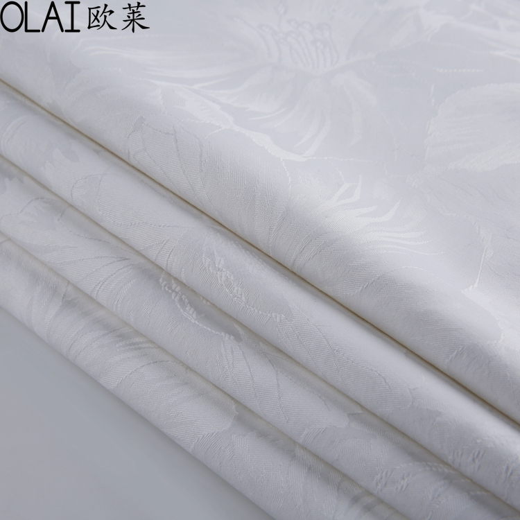 Plain White 100 Cotton Sheeting Fabric For Duvet Covers