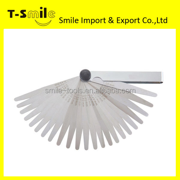 Stainless Steel High Quality Plastic Feeler Gauge