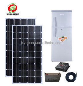 Manufacturer Solar powered DC 12V 275L solar refrigerators, solar power fridge