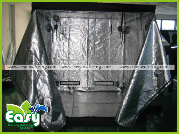 complete indoor grow tent kits with 120w led grow light and ventilation equipment size