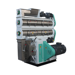 Direct Factory Price discount fish floating pellets feed machine line Output 5-12t/h BELT-DRIVEN PELLET MACHINE