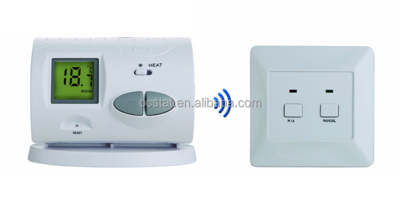 10A 220V CE Certification digital electronic room thermostat for floor heating thermostat Q3RF