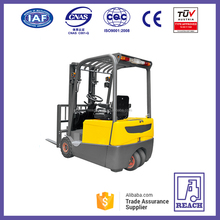 Chinese Three Wheel 1.6 Tons Electric Forklift Price