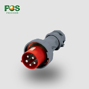IP67 4pole 32A Electric Switch 63a 5pins Explosion Proof Industrial socket