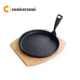 High Quality Cast Iron Sizzling Plate/Cast Iron Steak Plate