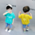 New style Ins summer baby boy set clothes