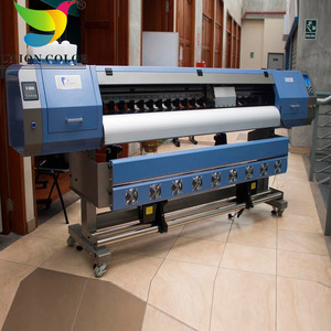 good price 1.8m allwin eco solvent printer e180s with 1/2 dx5 head