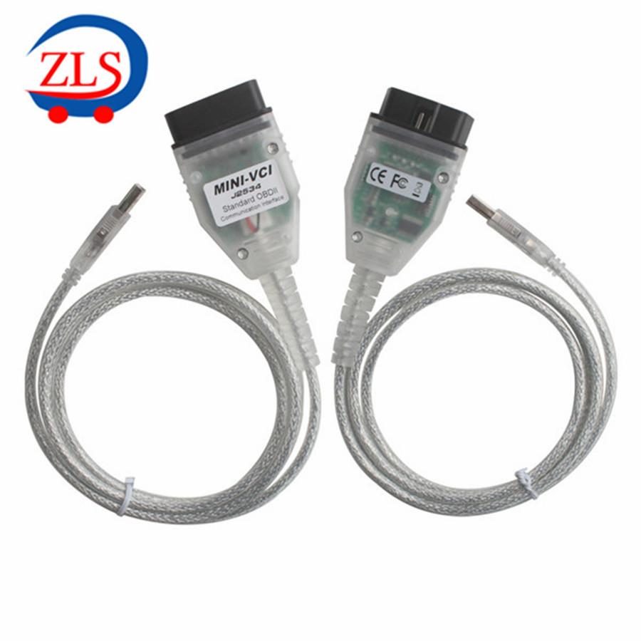 2015 оригинал Xhorse мини-vci для TOYOTA тис Techstream V10.30.029 мини-vci диагностический кабель бесплатная доставка