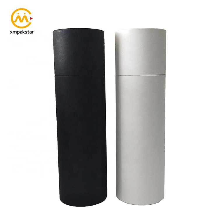 Factory wholesale rolled up art prints packing white poster mailing packaging paper tube