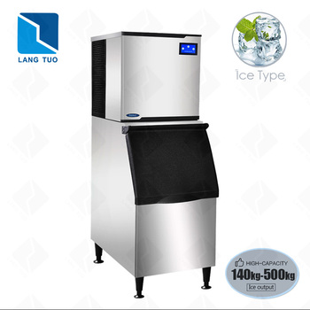 Langtuo DB320 500kg round square cube ice machine for sri lanka for sale