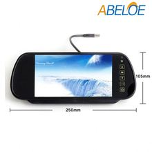 Quick delivery 7 inch tft lcd car tv rearview usb mirror monitor