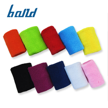 도매 100% 면 customized outdoor sport 팔찌 kids sweatband 대 한 온 아이는
