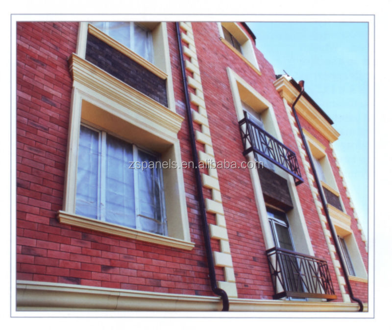 Fasade Decoration Wall Brick Tiles Facade Cladding
