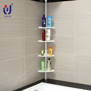 Outstanding 4 Tier White Plastic Floating Bathroom Corner Storage Shelves View Bathroom Corner Shelves Youlite Product Details From Jiangyin Youlite Intelligent Home Interior And Landscaping Ferensignezvosmurscom