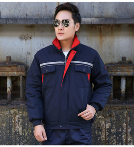 Wholesale Jacket Factory Workwear Winter Wear Resistant Engineering Clothing Automobile Repair Work Uniforms M-4XL