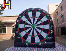 4m inflatable foot darts games giant inflatable soccer darts