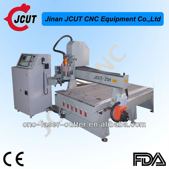 CNC router wood machine with ATC with 4*8 feet working size JCUT-25H