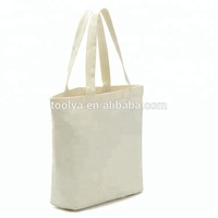 Custom blank logo printed cotton canvas tote shopping bag for DIY painting