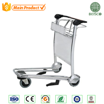 3 wheels airport passenger baggage luggage cart trolley
