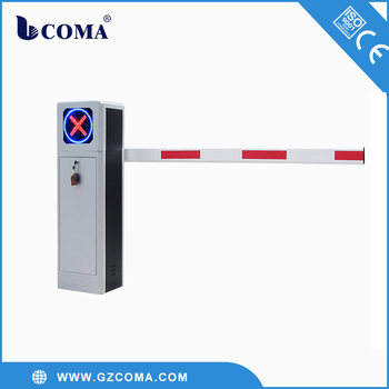 Octagon Pole Automatic Car Park Barrier With Loop Detector Buy