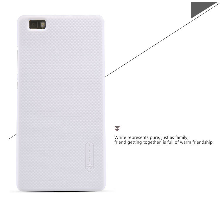 huawei p8 lite white. nillkin phone cases for huawei p8 lite white