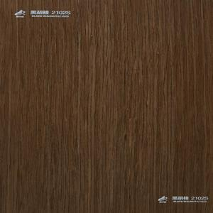 ayous material 2'*8' with thickness 0.5mm EV.BLACK WALNUT#2102S reconstituted wood veneer for face veneer