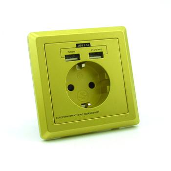 универсальный розетки Usb зарядное устройство Usb с двумя выходами