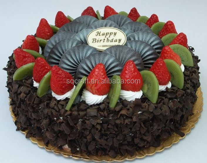 Birthday Cake Model With High Quality Fruit Decoration ...